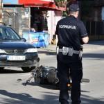 Povređen motociklista u saobraćajnoj nezgodi kod naselja Kraljevica
