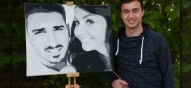 Upoznajte mladog Zaječarca Stefana Pejčića, samoukog slikara, čija ULIČNA IGRA BOJAMA ODUŠEVLJAVA PROLAZNIKE