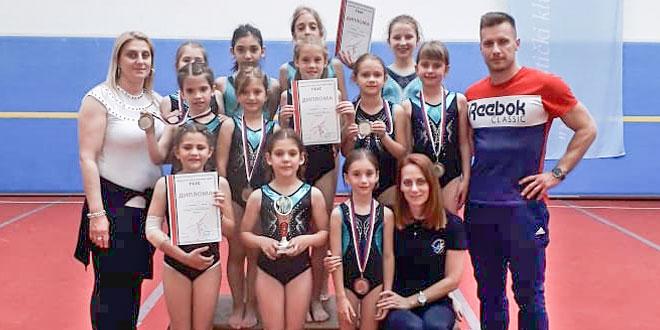 Zaječarske gimnastičarke ponovo donele medalje, ovog puta iz Niša