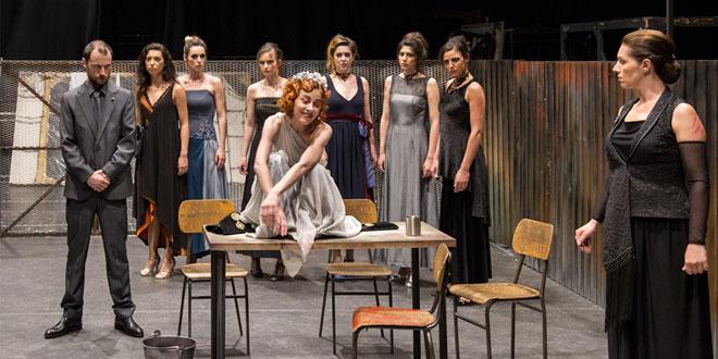 "Predstava ""Žene iz Troje"" pred beogradskom publikom"