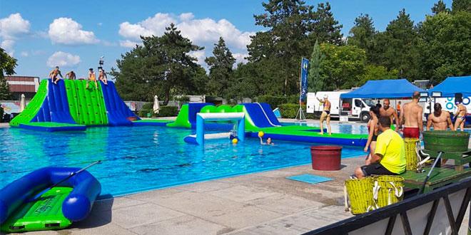 Zaječar: Sve spremno za večerašnji spektakl na bazenu (FOTO)