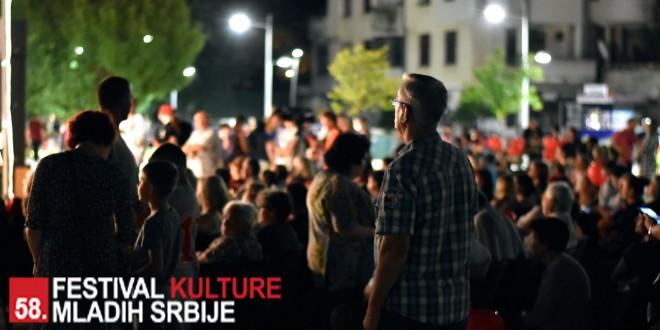 Otvoren 58. Festival kulture mladih Srbije u Knjaževcu