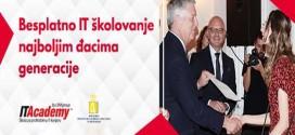Ana Mladenović, učenica iz Boljevca, dobitnica besplatnog školovanja na ITAcademy