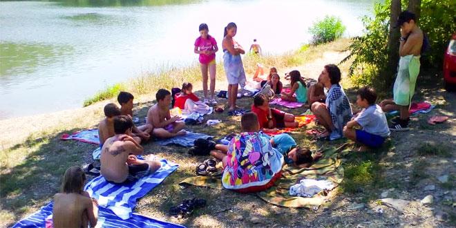 """Izviđački kamp zaječarskog Odreda """"Đorđe Simeonović"""" na Grliškom jezeru (FOTO)"""