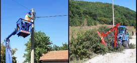 """JKP """"Timok održavanje"""": Zamenjena dotrajala ulična rasveta u Gradskovu, uređen put Leskovac – Gornja Bela Reka"""