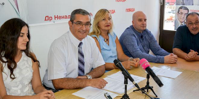 Dr Nenad Ristović: Borićemo se protiv svake stranke, koja se krije iza stranačkih obeležja, zarad ličnih ciljeva