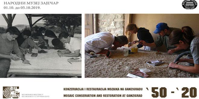 """Međunarodni stručni skup """"Konzervacija uranjajućeg sloja na mozaiku – kako ga sačuvati"""" od 1. do 4. oktobra u Zaječaru"""