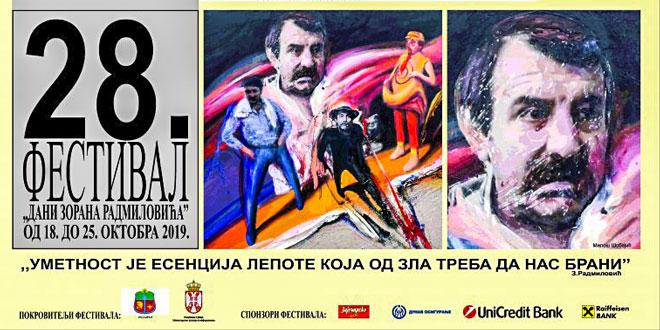 Pozorišni festival u čast Zorana Radmilovića 28. put