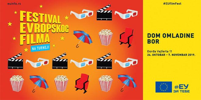 Festival evropskog filma prvi put u Boru -Sve projekcije u Domu omladine