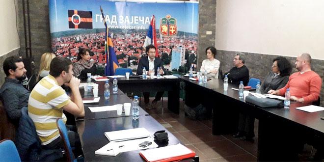 Zasеdala Radna grupa za izradu Gеografskog informacionog sistеma grada Zajеčara
