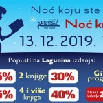Noć knjige i u Zaječaru – 13. decembra, od 17 sati do ponoći!