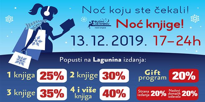 Photo of Noć knjige i u Zaječaru – 13. decembra, od 17 sati do ponoći!
