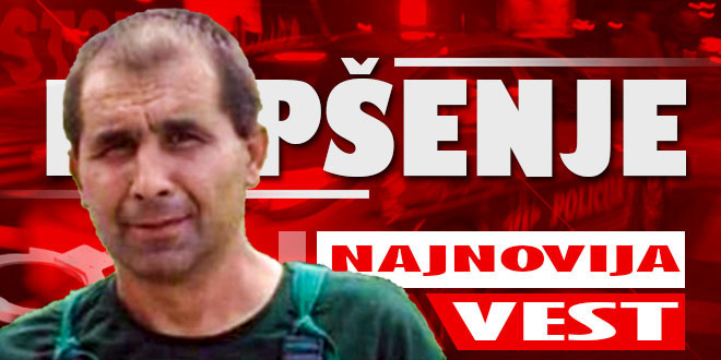 Ninoslav Jovanović uhvaćen kod groblja u Malči