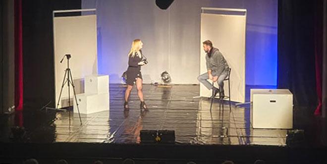 """Photo of Ljubavna melodrama """"Bliskost"""" sinoć izvedena na Virovitičkim kazališnim svečanostima"""