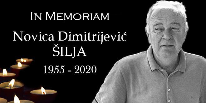 In memoriam: Novica Dimitrijević – Šilja (1955 – 2020)