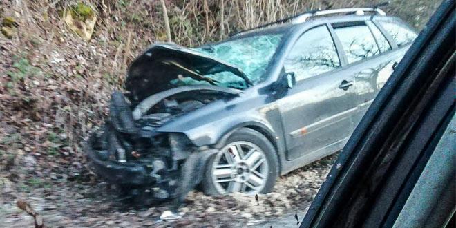 Saobraćajka na putu Knjaževac – Kalna: Dve osobe povređene
