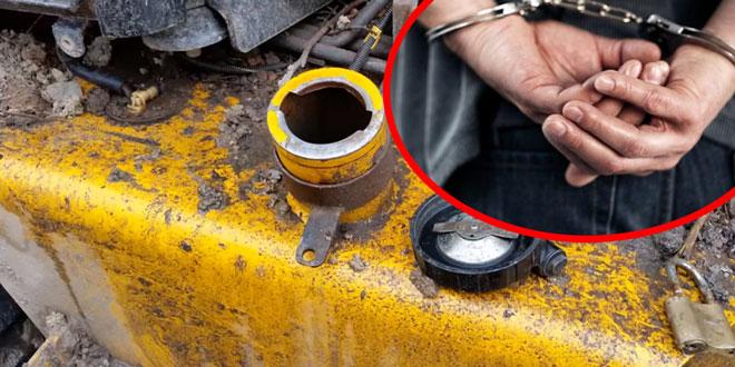 Zaječarac uhapšen nakon krađe na stotine litara nafte iz radnih mašina