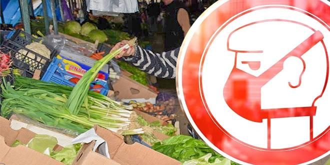 Higijena upozorava prodavce na pijaci: MASKE I RUKAVICE OBAVEZNE