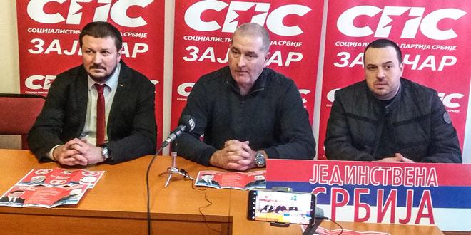 Sa jučerašnje konferencije SPS-JS u Zaječaru