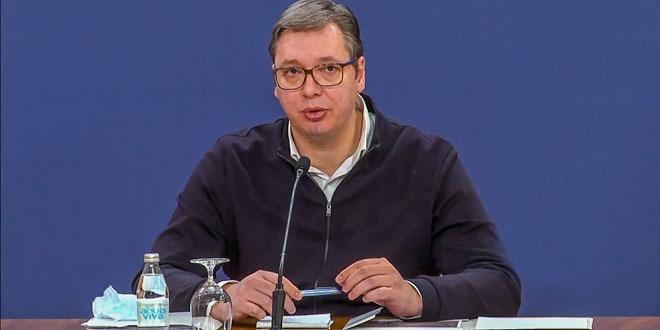 Photo of Vučić će se u 15 sati obratiti javnosti