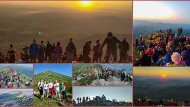 Photo of VIDOVDANSKI NOĆNI USPON NA RTANJ – Oko 1.400 ljudi uživalo u prelepom pogledu na deo Srbije u svitanju