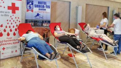 Photo of Za dva dana u Zaječaru prikupljeno 59 jedinica krvi