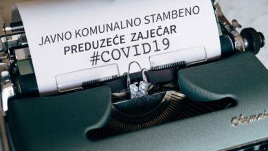 "Photo of COVID -19 MENJA NAČIN RADA JKSP ""ZAJEČAR"""