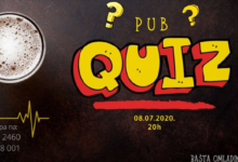 Photo of Pub quiz – predgrupa  Električnom orgazmu