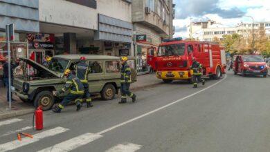 Photo of UVEK PRIPRAVNI VATROGASCI – SPASIOCI izveli pokaznu vežbu spasavanja povređenih u saobraćajnoj nezgodi