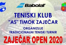 "Photo of Tenis: Počele prijave za ""Zaječar Open 2020"""